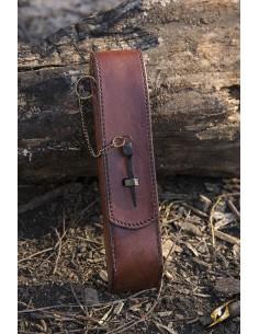 Cutlery w. Leather Hanger -...
