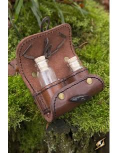 Potion holder 2 Piece - Brown