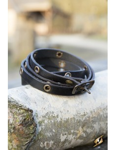 Multistrap Bracelet - Black