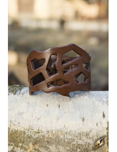 Filigree Bracelet - Brown
