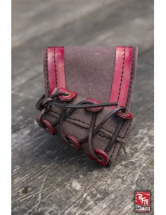 RFB Small holder - Brown - Red