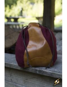 Merchant Purse - Red/Brown