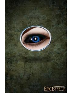 Sclera Eye Lenses - Blue Demon