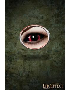 Sclera Eye Lenses - Red Demon