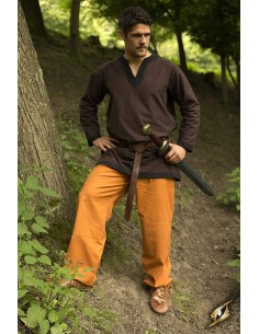 Basic Pants - Ocher