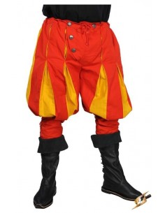 Landsknecht Pants - Red/Yellow